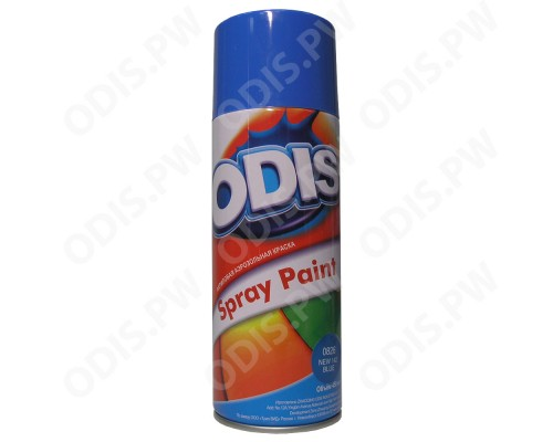 ODIS 0826 Краска-спрей  новый 142 синий  450мл / 290г