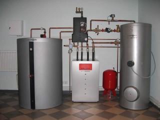 Отопление загородного дома антифризом