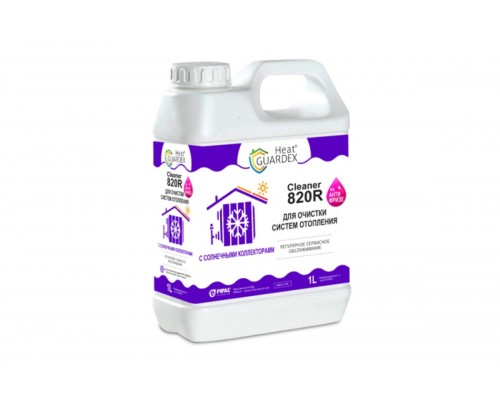 HeatGUARDEX® CLEANER 820R (канистра 1 л)