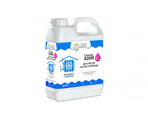 HeatGUARDEX® CLEANER 826R (канистра 1 л)